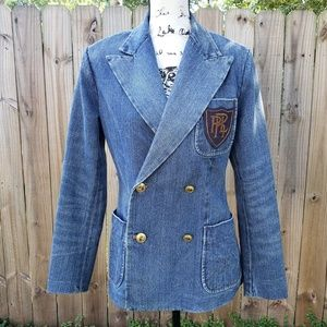 Vintage Polo Ralph Lauren Women's Denim Jacket
